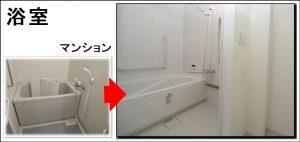 全面リフォーム寝屋川中浴室