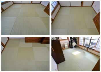 京都八幡市和紙畳