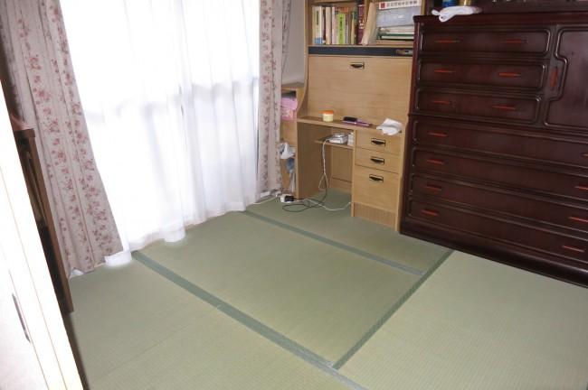 洋室から和室畳リフォーム