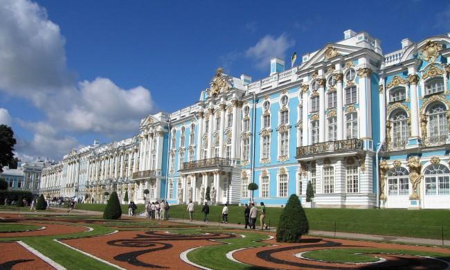 エカテリーナ宮殿(ロシア)1