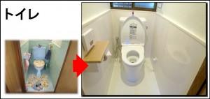 トイレ寝屋川