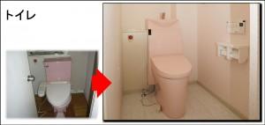 吹田市S邸全面改装トイレ