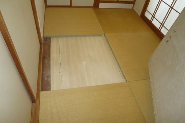 床下収納リフォーム寝屋川