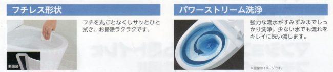 リクシル・マンション用リフォームトイレ「アメジュZ・フチレス」