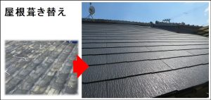 屋根葺き替え京都市