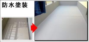 京都八幡市防水塗装