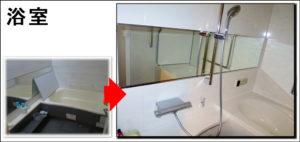 吹田マンション浴室